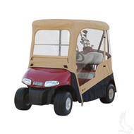 Drivable Golf Cart Enclosure with Zip-off Windshield - EZGO RXV