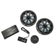 Kicker Audio Bluetooth Golf Cart Stereo System - 100W