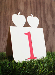Double apple table number