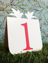 Double dove table number