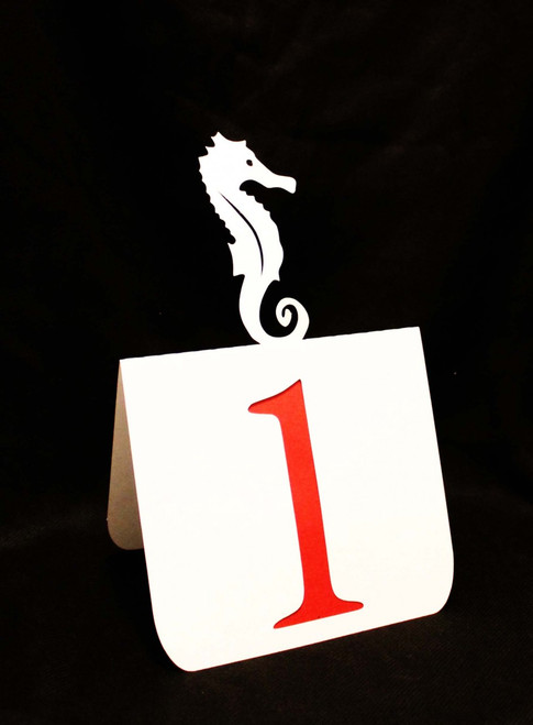 Seahorse table number