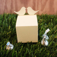 Love bird favor box