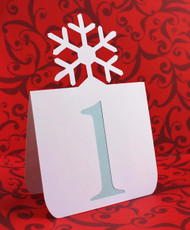 Snowflake table number