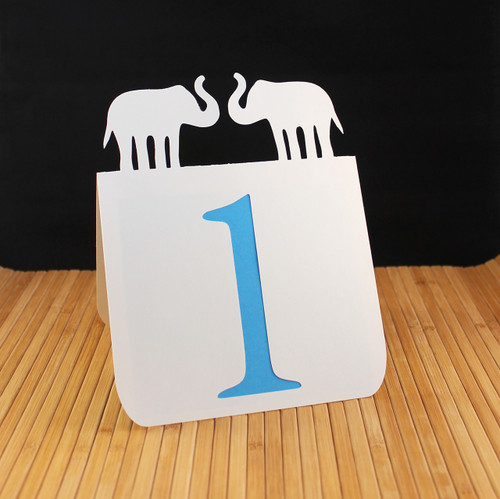 Elephants table number
