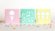Sherbet gift tags