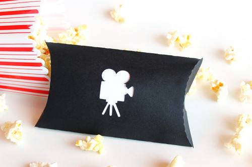 Movie camera favor box