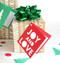 Joy and love gift tag