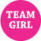 Team Girl - Hot pink