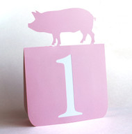 Pig table number