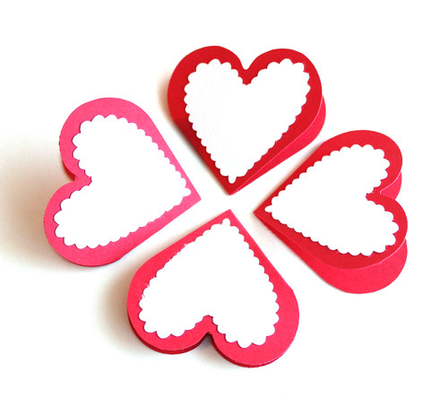 Valentine love notes small