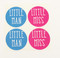 Little Miss & Little Man Stickers