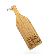Time to uncork and unwind cutting board
