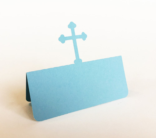 Cross place card