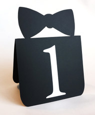 Bow tie table number