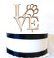 Love philly paw cake topper - wood