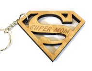 Super mom keychain
