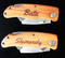 Personalized Engraved Folding Utility Knife - Closed