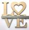 Love Wood Door Sign