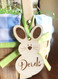Bunny Rabbit Easter Name Tag