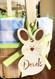 Bunny Rabbit Easter Name Tag