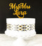 Mr & Mrs personalized name cake topper