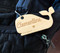 Personalized Whale Diaper Bag Tag