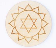 Heart Chakra Crystal Grid