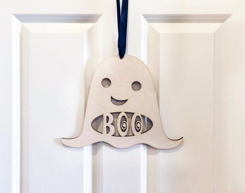 Ghost Door Sign