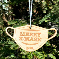 Merry X-Mask Ornament