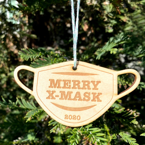 Merry X-Mask Ornament