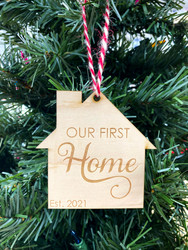 Our First Home Ornament 2021