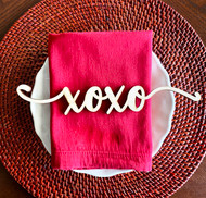 xoxo place card