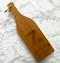 Wedding Wine Bottle Cutting Board
