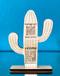 Scannable QR Code Cactus Sign