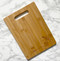 Parrot Personalized Name Cutting Board