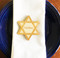 Star of David Wood Personalized Place Cards