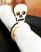 Skull Wood Napkin Rings