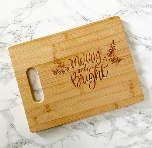 Merry and Bright Cutting Board