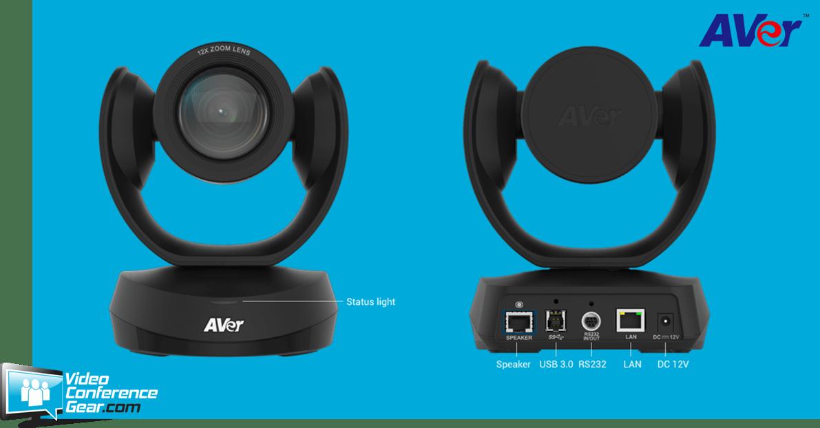 AVer VC520 Pro Enterprise-Grade camera & speakerphone bundle perfect for medium to large rooms