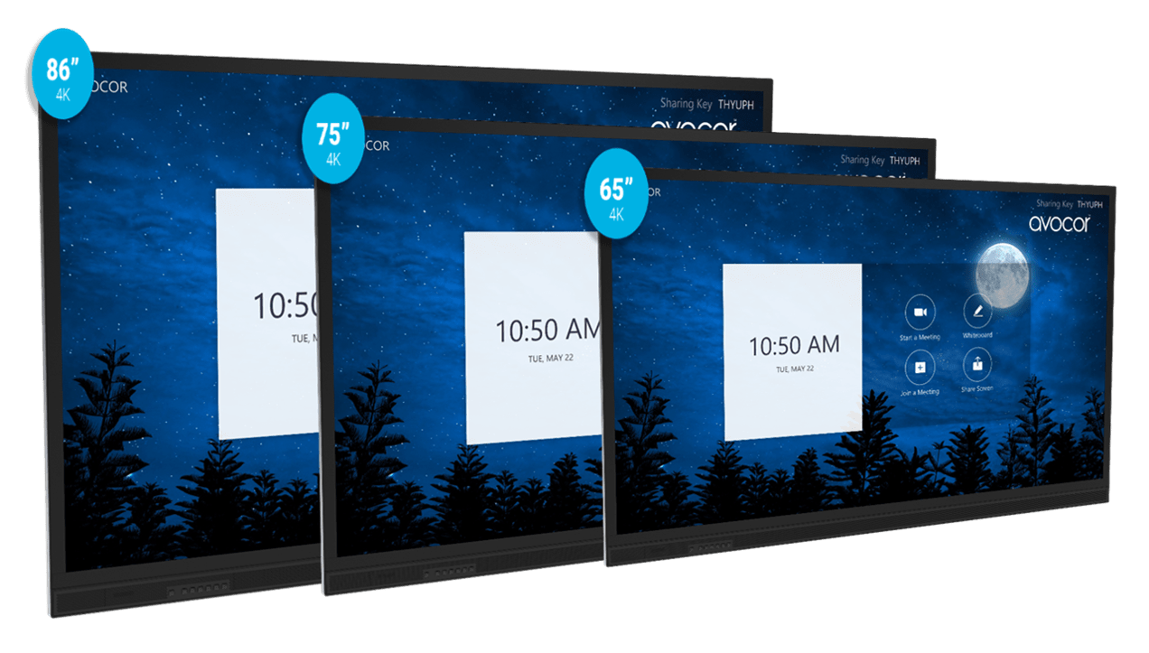 Avocor E-Series Interactive Displays