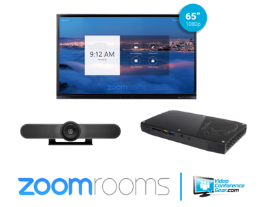 Zoom Rooms Kit from Video Conference Gearfeaturing the Acocor F-Series