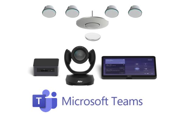 Microsoft Teams configured room kit