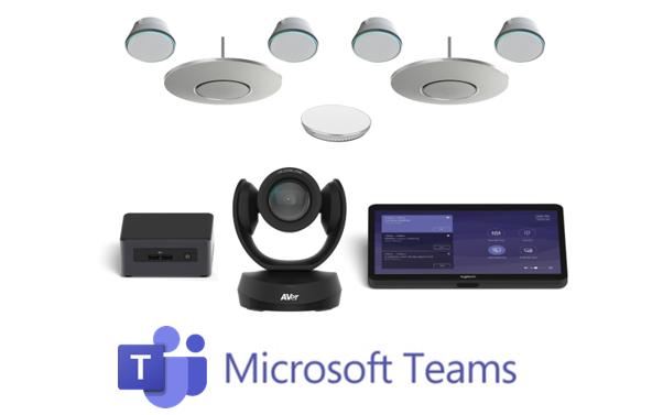Microsoft Teams with Stem Audio configured room kit