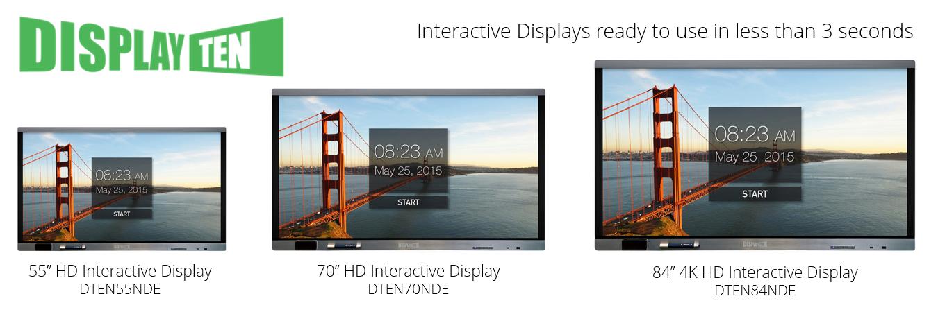 Display Ten Interactive Panel Display