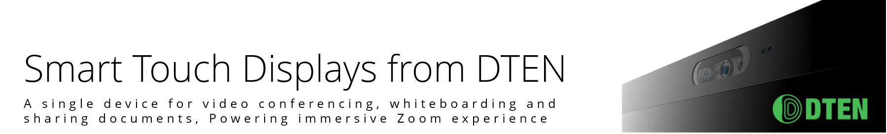 DTEN ON 55 inch Zoom Rooms Display