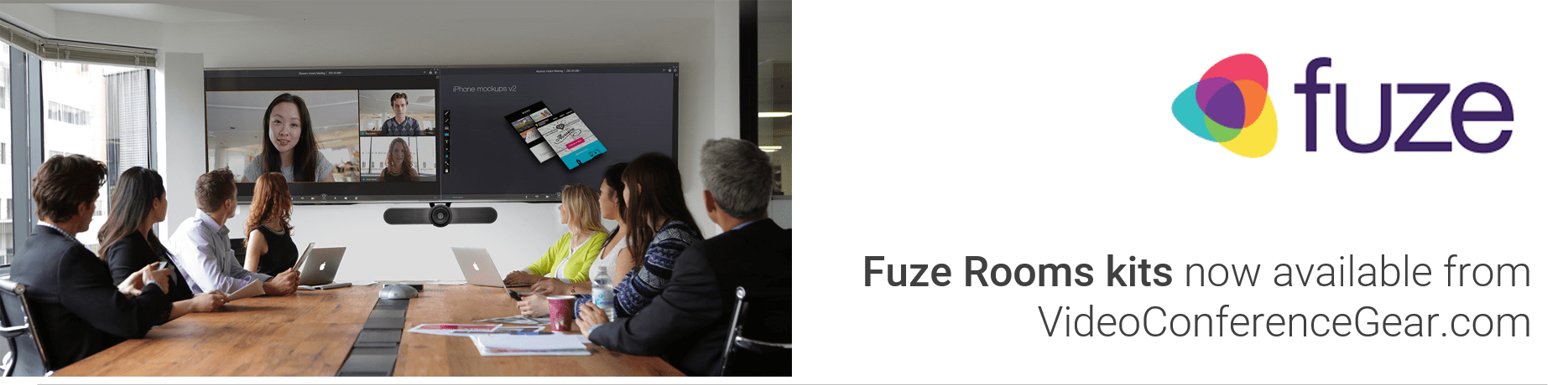 Fuze Rooms Kits by VideoConferenceGear.com