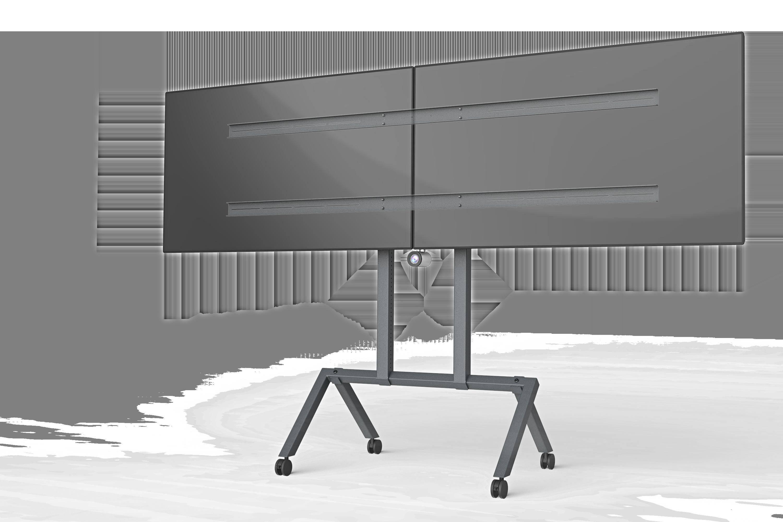 Dual Display Kit for Heckler AV Cart