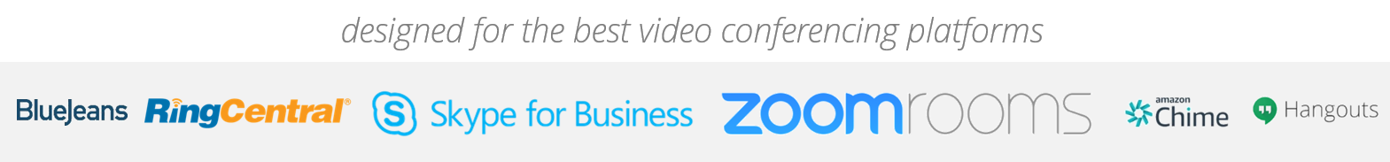 Market Leading Video Conference Platforms