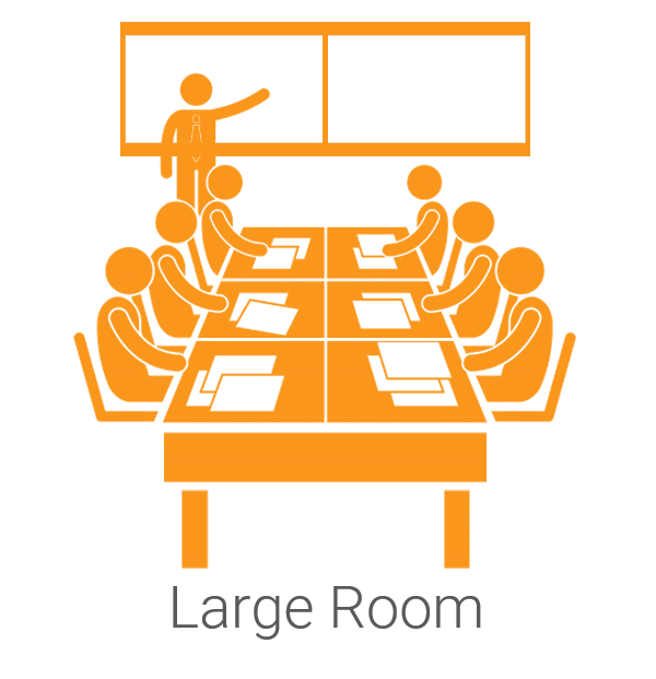 Large Conference Room and Classroom RingCentral Rooms Video Conferencing Room Kits from VideoConferenceGear.com