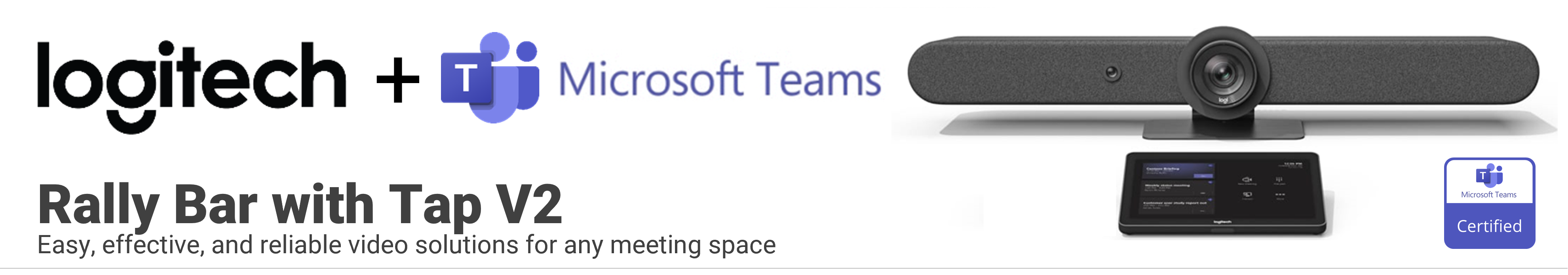 Logitech Rally Bar Microsoft Teams Kit